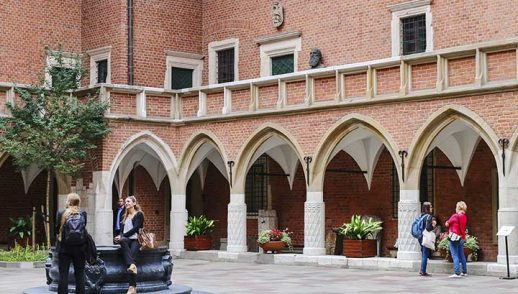 Restoration of university old building